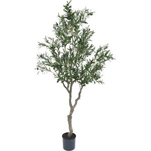 人工観葉植物 フェイクグリーン オリーブの木 2100【人工観葉植物・造花】