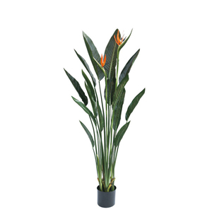 人工観葉植物 フェイクグリーン ストレチア1300【ストレリチア・極楽鳥花・人工観葉植物・造花】