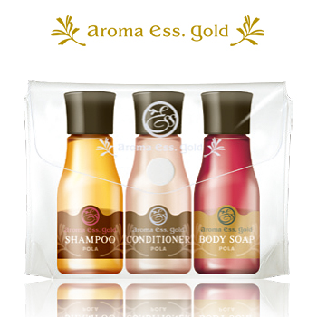 POLA/ポーラ /アロマエッセ ゴールド/aroma ess.GOLD アロマエッセ ゴールド30ml 3種類 ポーチ入3本セッx100個入