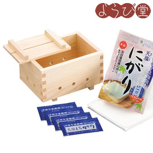 開催中 ご家庭で手作り豆腐 新品 豆腐作り器 にがり付き