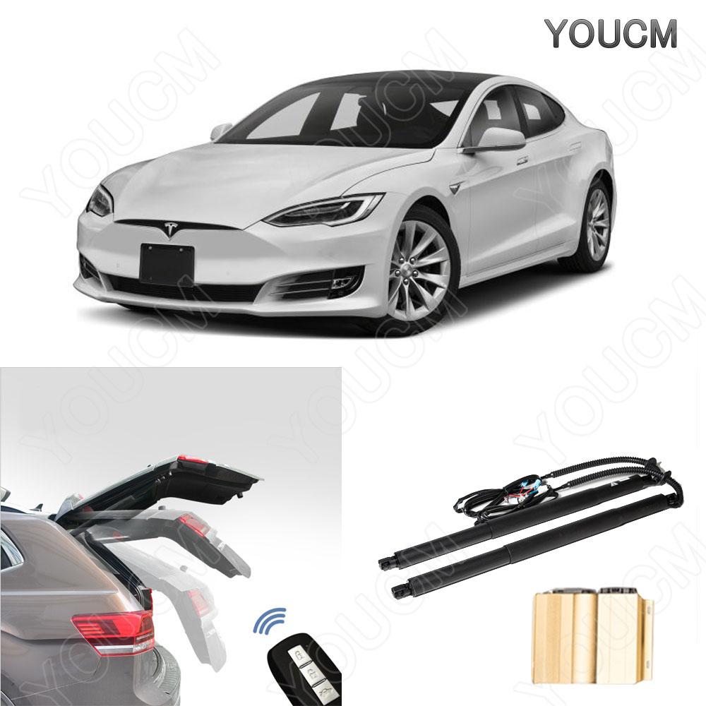 Tesla MODEL S H24~ 電動パワーバックドアキット! フットセンサー ハンズフリー!パワーゲート パワーリアゲート 電動ダンバー トランク リア バックドア スマートキー 電子ドア
