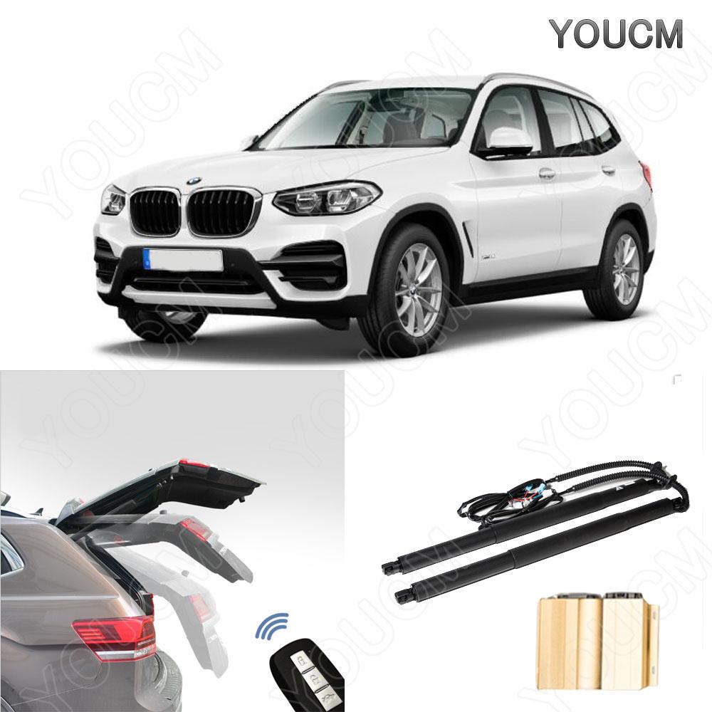 BMW X3 H18.10~ E83 HID仕様 電動パワーバックドアキット! フットセンサー ハンズフリー!パワーゲート パワーリアゲート 電動ダンバー トランク リア バックドア スマートキー 電子ドア
