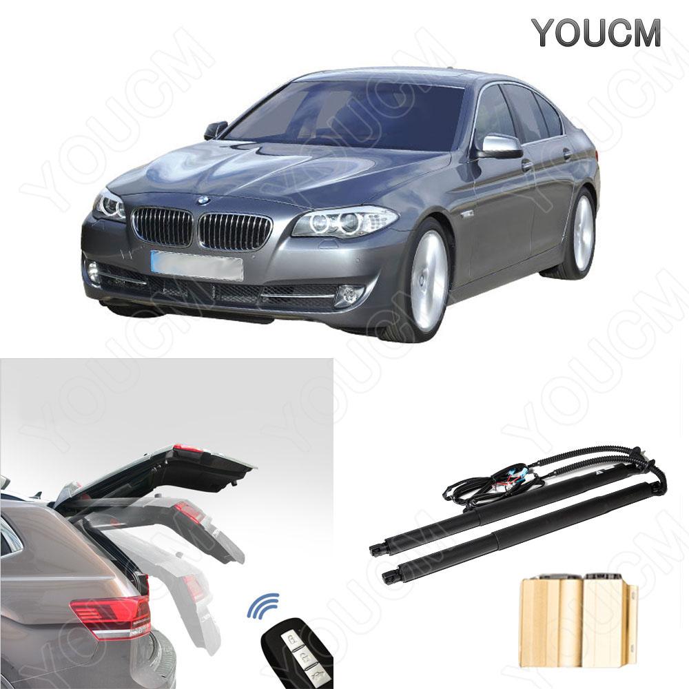BMW 5シリーズ H22.3~ F10/F11/FR35 HID仕様 電動パワーバックドアキット! フットセンサー ハンズフリー!パワーゲート パワーリアゲート 電動ダンバー トランク リア バックドア スマートキー 電子ドア