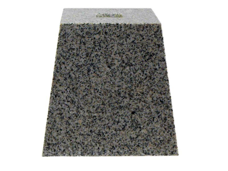束石 白御影石 磨き G603 6寸 30kg