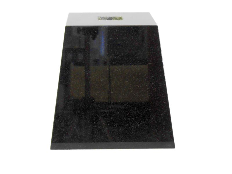 束石 黒御影石 磨き G342 6寸 32kg