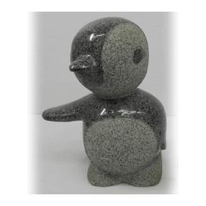 ペンギン 4 石の置物 140x105x180 32kg