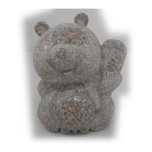 たぬき 2 石の置物 190x130x220 6kg
