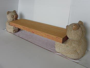 パンダベンチ 400x450x550アルミ座板付 360kg