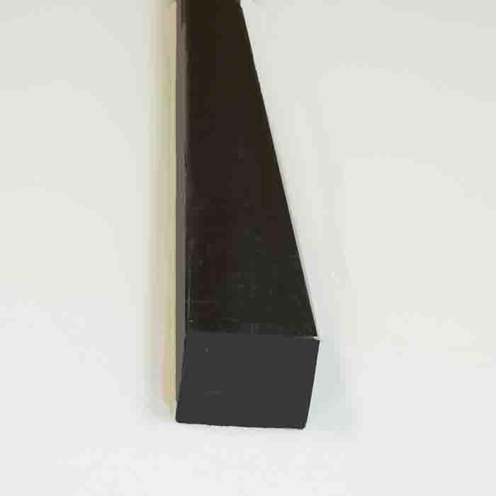 ゴム目地棒角水切り20×40、10本入り、長さ2m