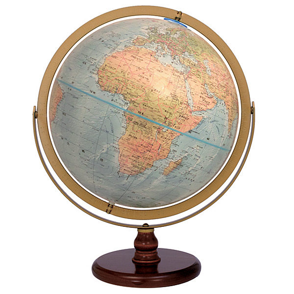 The Oceaniaリプルーグル地球儀 オセアニア型英語版