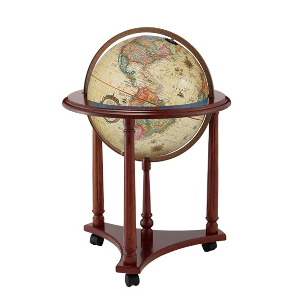 The Lafayetteリプルーグル地球儀 ラファイエット型 アンティーク地図英語版