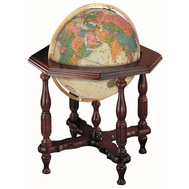 The Stantesmanリプルーグル地球儀 ステイツマン型 アンティーク地図英語版