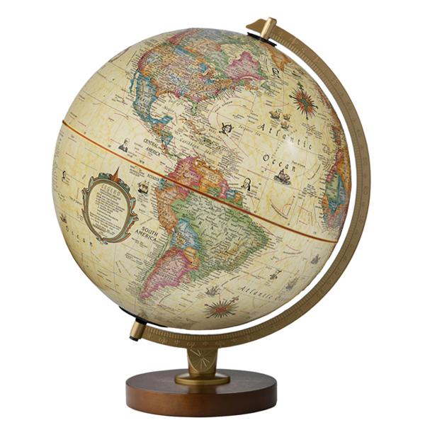 The Panorama Antiqueリプルーグル地球儀 パノラマ・アンティーク型英語版アンティーク地図