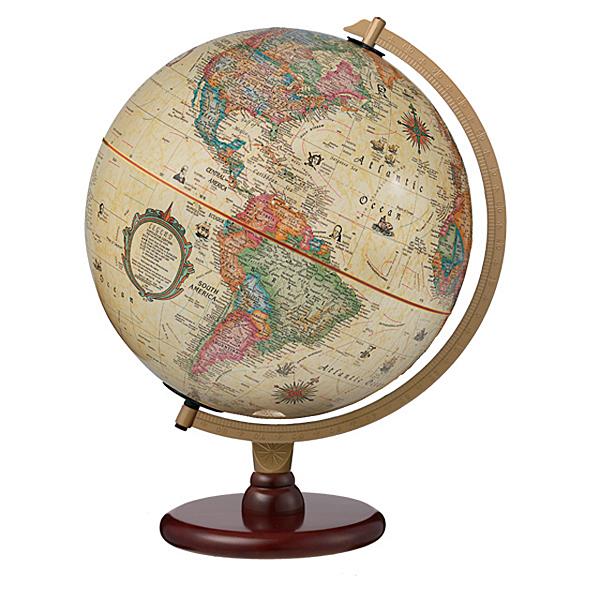 The Carlyleリプルーグル地球儀 カーライル型英語版アンティーク地図