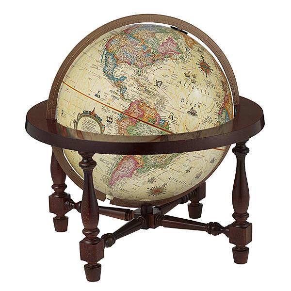 The James Wilsonリプルーグル地球儀 ジェームス・ウィルソン型英語版アンティーク地図