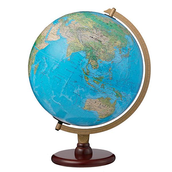 The Carlyleリプルーグル地球儀 カーライル型英語版ブルーオーシャン地図
