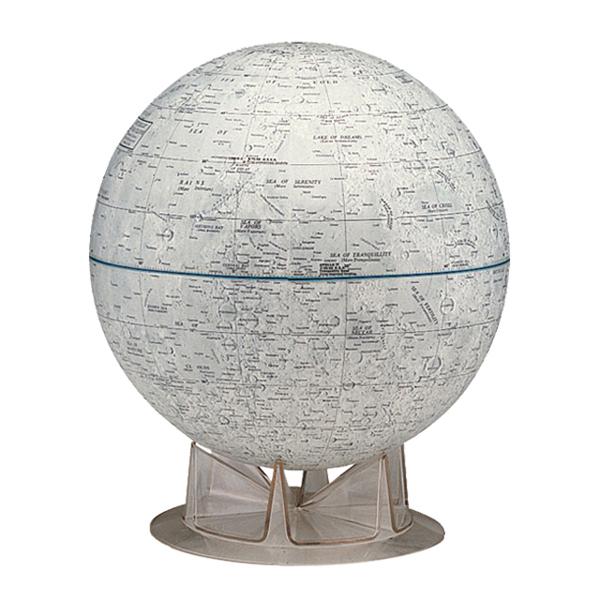 The Moonリプルーグル月球儀英語版