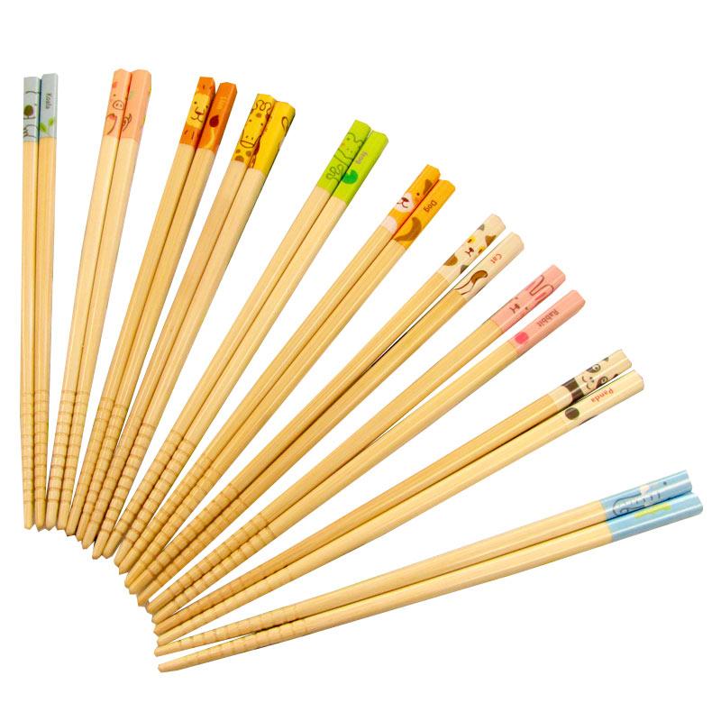 孩子們的動物竹筷子所有 10 物種 (付諸表決的筷子,筷子 / 名稱 / 姓名 / 名稱 / 名稱 / 禮品 / 生日 / 兒童 / 兒童 / 孩子們 / 動物)