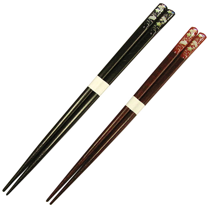 Heavenly treasures golden rabbit karagumi couple chopsticks II Zen set (put the chopsticks and chopsticks and name / new baby / wedding gifts / Memorial Day / memorabilia / parents / pair / 木婚 expression / who / HED / gift / gifts / gift / in wedding)