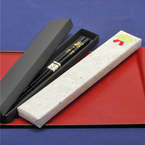 ◆ Please order with your chopsticks ◆ for gifts for your chopsticks and paper boxes