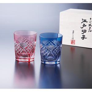 江戸切子 カガミクリスタル ペアマイグラス150
