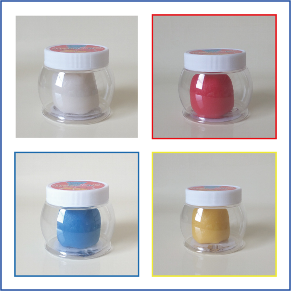 Comhello papier mache-Basic 4 colors 60 g 4 agar clay