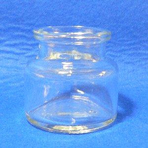 透明ガラスコルク口 丸-67 1ケース(168本入) 容量OF67ml