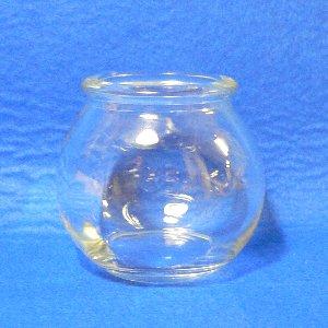 透明ガラスコルク口 球ビン 1ケース(120本入) 容量OF106ml