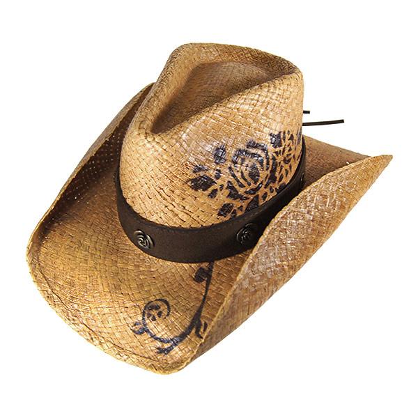 9381ac2fe15a87 #320001 bullhide (BULLHIDE) straw Western Hat - ROMANTIC DREAM / romantic  dream women's ...