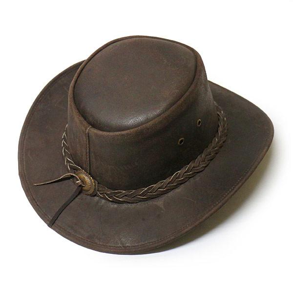 320020 bullhide (BULLHIDE) Western Hat - CEDAR GROVE   Cedar Grove (wire)  Ladies Leather leather Western Hat Fedora Hat cowboy hat Cowgirl braided  band ... 31077fe8473