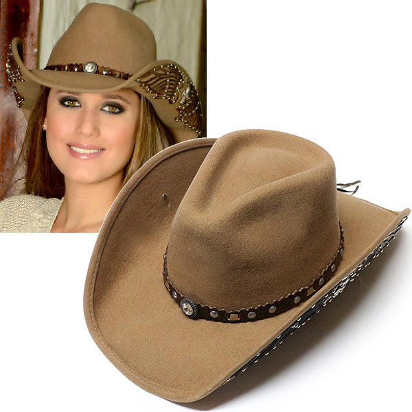 #320034ブルハイド(BULLHIDE)ウエスタンハット - NOBODY BUT YOU/ノーバディバットユー(ワイヤー入り) メンズ レディース 帽子 テンガロンハット カウボーイ カウガール 衣装 ダンス イベント フェルト 茶 ブラウン S M L 0702S