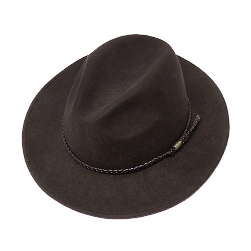 deb310d7aa8 ... Hat - OMAHA (Omaha) men s women s crushable cowboy hat fedora turu Hat  caps Cap Hat felt Hat M   F plain fashionable wool Brown tea M L XL  10P05Dec15