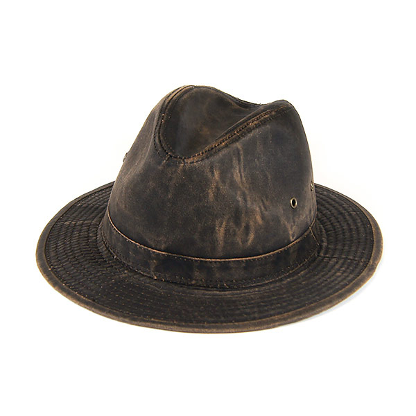 030042 Dorfman Pacific (DORFMAN PACIFIC DPC) ウェザードコットンアウトバック style hat  Safari Hat outdoors Hat UPF50 Weathered Cotton M L XL MC146 80f7fcfe3e3