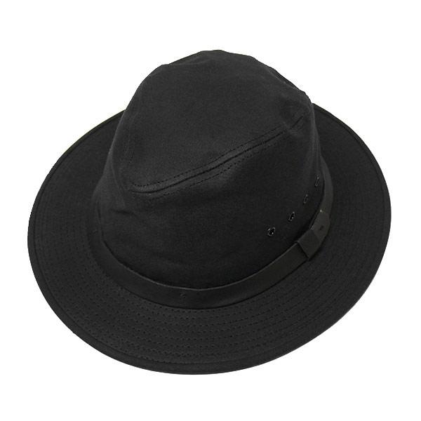 #100008フィルソン FILSON オイルフィニッシュティンクロスコットン - TIN PACKER HAT 半額 メンズ レディース 35%OFF アメリカ産 MADE IN L ブラック USA M オイルコットン 60015 黒 防水 BLACK アウトドア XL