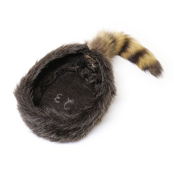 a880df28839  980023 Western ex press (WesternExpress) Coonskin Hat-COONSKIN CAP Russia Cap  Davy Crockett Hat this winter mens Womens kids raccoon tail leather fur fur  ...