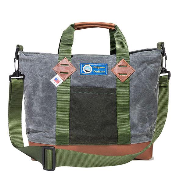 #927118オレゴニアンアウトフィッターズ Oregonian Outfitters ワックス カスケイド ショルダーバッグ (アッシュ×ブラウン) OOB 2091 ASH/BROWN 35×32.5×14.5cm