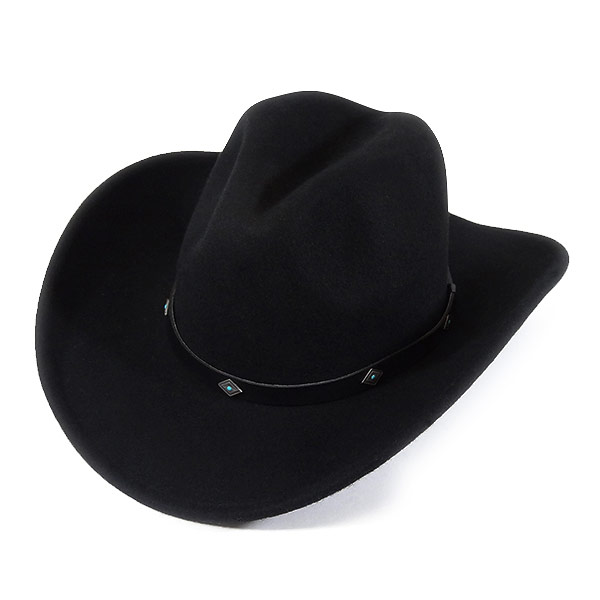 f4ac0672df17d  000002 Lock mount (Rockmount) crushable felt hats (Silver  amp  ターコイズコンチョ  bands and plastic wire)-COWBOY MAGIC Western Western Hat cowboy hat ...
