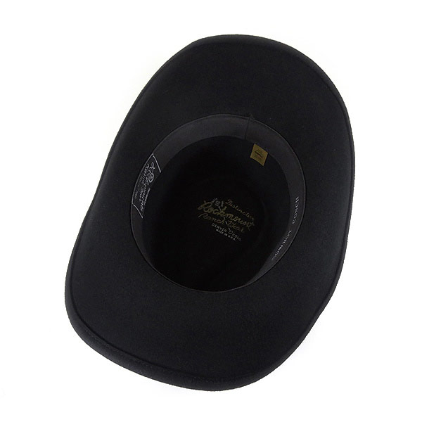 d45f5509d68a65 ... #000001 Lock mount (Rockmount) crushable felt hats (シルバーコンチョ bands and  plastic