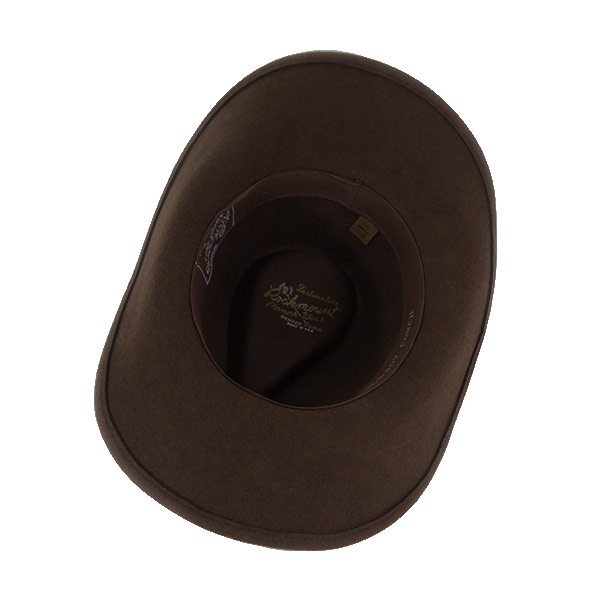 ac9ad4b66fb589 ... #000003 Lock mount (Rockmount) crushable felt hats (シルバーコンチョ band / wire