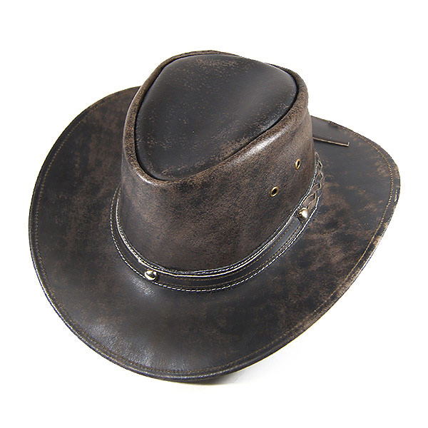 0d3258fb114f18 #900009 lock mount (Rockmount) leather Western hat (wire) mens ladies Hat  ...