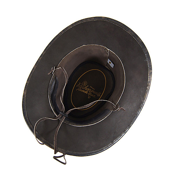 e94b5bf2a38abb ... #900009 lock mount (Rockmount) leather Western hat (wire) mens ladies  Hat