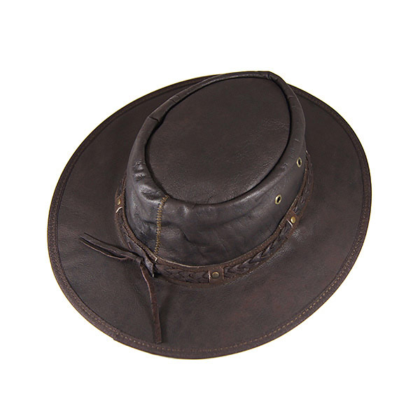 116a79aaf238e0 #900008 lock mount (Rockmount) leather Western hat (wire) mens ladies Hat  Western Western Hat cowboy hat fedora leather leather wire drawcord Brown  Brown ...