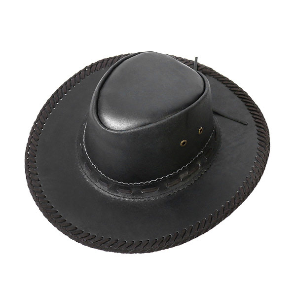 5e43b6955973c1 #900020-lock mount (Rockmount) leather Western Hat men's women's eyelet  braided Hat Western Western Hat cowboy hat fedora leather leather wire  drawcord ...