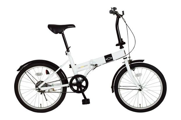 【送料無料】【代引不可】ミムゴ CHEVROLET FDB20R 折りたたみ自転車 MG-CV20R[20インチ/ホワイト]【メーカー直送】【】