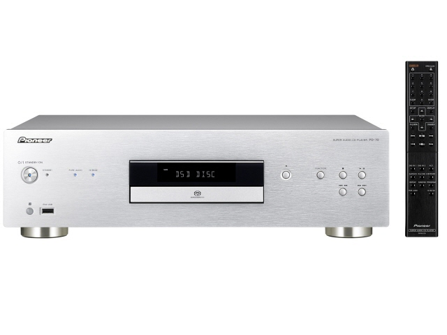 Pioneer CD player PD-70 [frequency characteristics (minimum): 2 Hz (max) frequency response: 20 KHz SACD: 1 MP 3:00]