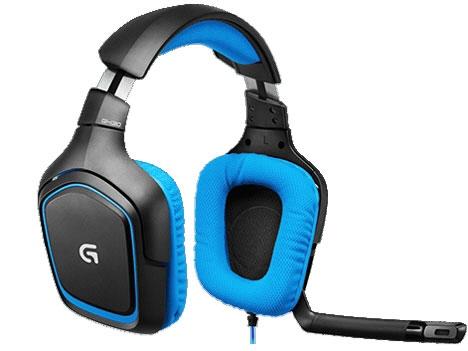 ロジクール ヘッドセット G430 Surround Sound Gaming Headset [ヘッドホンタイプ:オーバーヘッド プラグ形状:USB/ミニプラグ 片耳用/両耳用:両耳用 ケーブル長さ:3m] 【】【人気】【売れ筋】【価格】