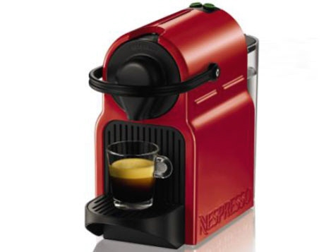 ネスレ コーヒーメーカー Nespresso Inissia C40RE [ルビーレッド] 【】 【人気】 【売れ筋】【価格】【半端ないって】