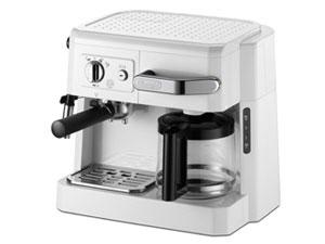 デロンギ コーヒーメーカー BCO410J-W [ホワイト] [容量:10杯 フィルター:メッシュフィルター コーヒー:○ エスプレッソ:○ カプチーノ:○] 【】【人気】【売れ筋】【価格】