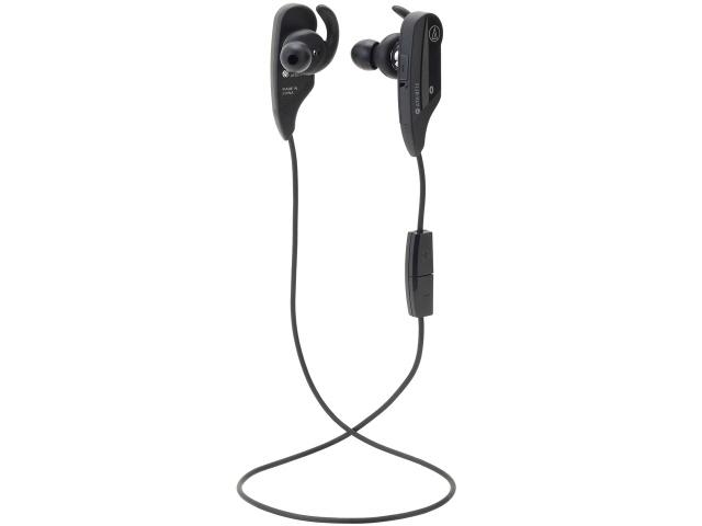 オーディオテクニカ ヘッドセット ATH-BT12 BK [ブラック] [ヘッドホンタイプ:カナル型 片耳用/両耳用:両耳用 ケーブル長さ:0.52m] 【】 【人気】 【売れ筋】【価格】【半端ないって】