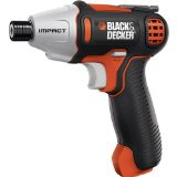 Black & Decker impact driver ISD72 [type: impact driver Max tightening torque: 12 N-m charging time: 240 minutes]